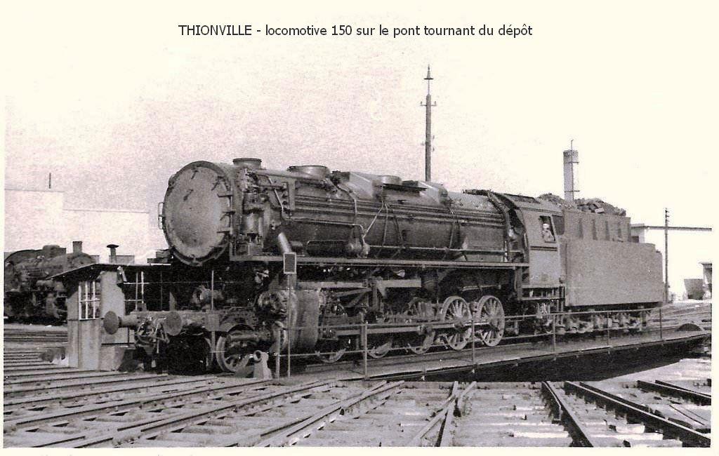 Thionville l'ancien dépôt des locomotives
