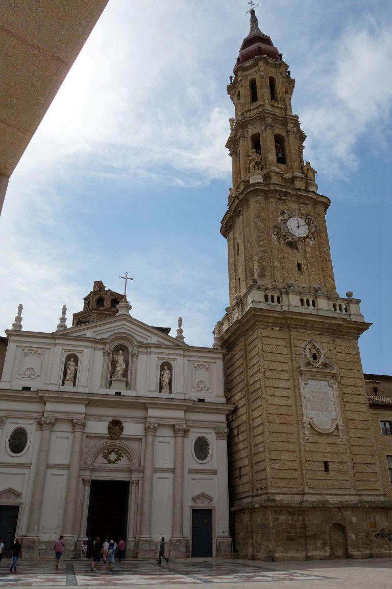 l'autre cathédrale, la cathédrale Saint-Sauveur de Saragosse et son style mudejar empreint d'influences arabes