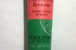 L'Occitane, Baume à lèvres Pamplemousse Rhubarbe