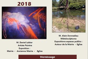"JUILLET - AOUT 2018 : LESIGNY ""ART GRANDEUR NATURE"""