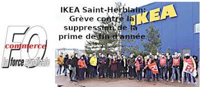 IKEA Saint-Herblain: Grève contre la suppression de la prime de fin d'année