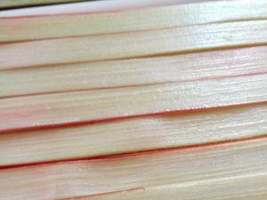 Tarte à la rhubarbe (façon conticini)