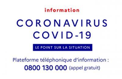 ATELIERS EN FRANÇAIS SUSPENDUS A COMPTER DU LUNDI 16 MARS 2020