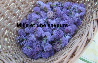 Vinaigre aux fleurs de ciboulette