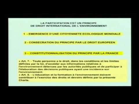 Enjeux et défis du Droit de l'Environnement.