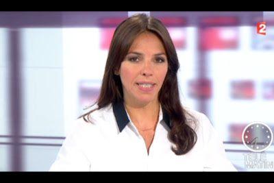 [2012 09 27] SOPHIE LE SAINT - FRANCE 2 - LE JOURNAL @07H30
