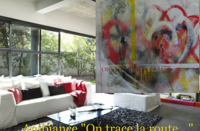 """Ambiance """"On trace la route"""""""