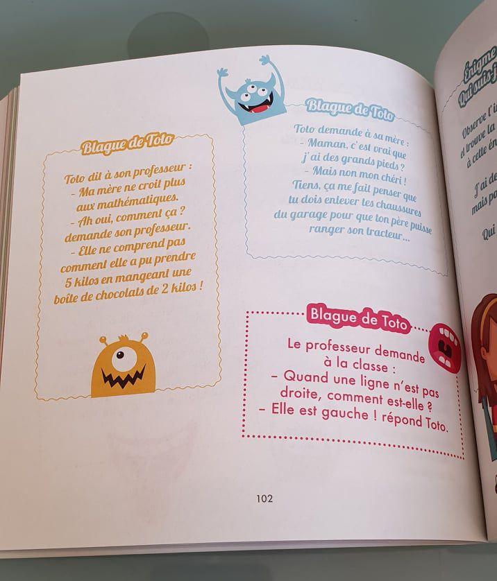 Mes 3 livres chouchous de l'été : B comme Bretagne, Vive La Fontaine, Le gros livre des blagues et des jeux