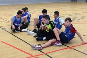 Minimes Futsal : 2ème du département !
