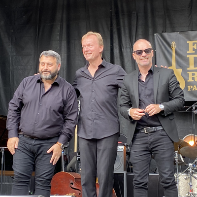 Eric Légnini, en concert au festival Django-Reinhardt