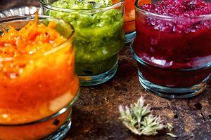 Salades marocaines rafraîchissantes
