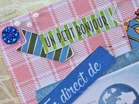 carte - postale - fait main - fait maison - strass - estivale - été - vacances - marque page - fleurs - voyage