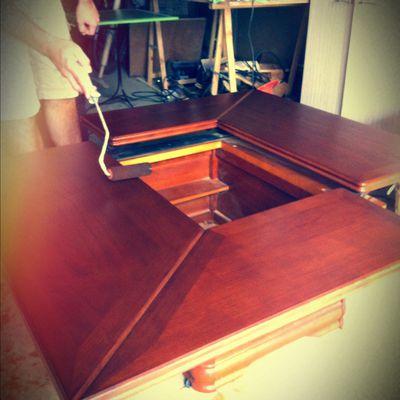 Rénovation table basse