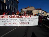 Loi de sécurité globale, toujours autant de manifestants au Puy en Velay