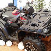 POLARIS sportsman 1000 xp 2015et nouveaux modèles présentés sur le camp POLARIS !