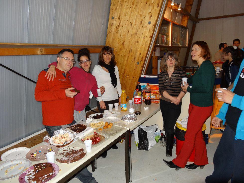 20/12/2013 : Entraînement de Noël des Benjamin(e)s