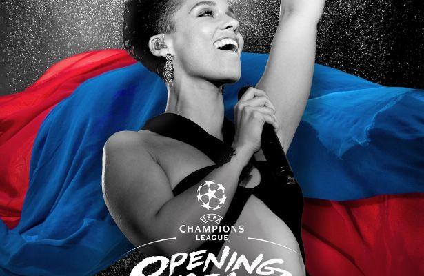 Buzz : Alicia Keys chantera à la mi-temps de Finale de l'UEFA Champions League