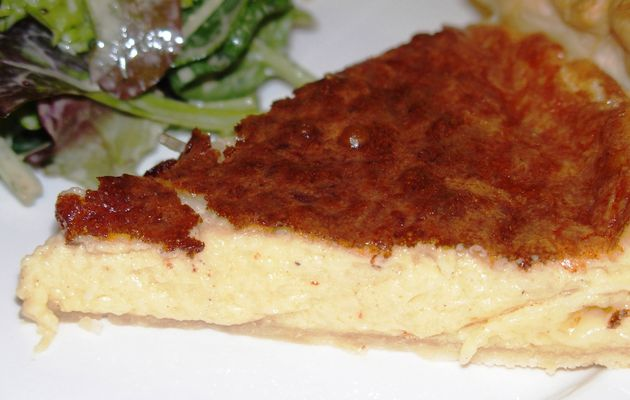 Tarte au fromage inratable
