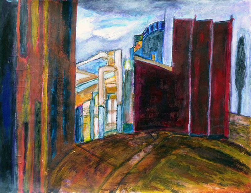 3 peintures de Madeleine Gautier-Brun