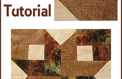 Box Quilt Block Tutorial made in batiks is easy to make #quilt #quiltblock #quilttutorial #batiks