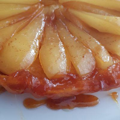 Tarte tatin aux poires