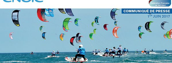 kitesurf Leucate : Coupe de France Speed Crossing du 9 au 11 juin