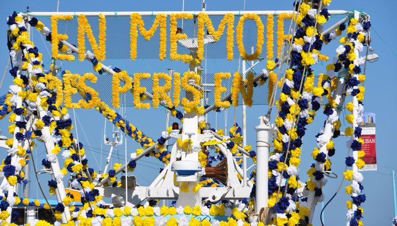 Iamges de la bénédiction de la mer le 18juillet 2010 à Saint Vaast la Hougue