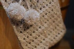 Le Col de Noël par Spirou Bobine - Modèle gratuit au crochet