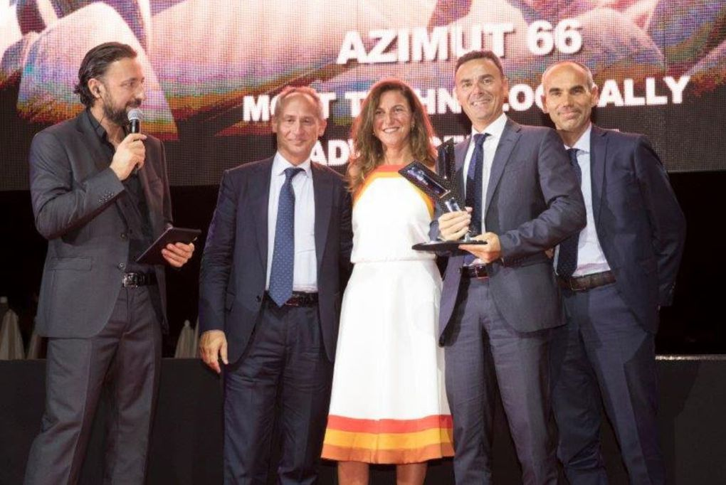 An Award for Azimut Yachts at the World Yachts Trophies 2016
