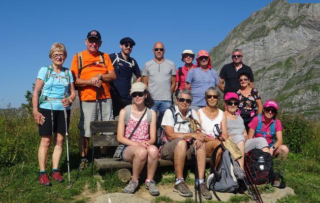 Randonnée des saveurs au col de l'Arpettaz le 11.08.21