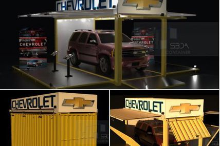 We have received an order to design two of this units for Chevrolet to use is as transporting