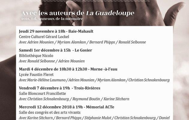 Tables rondes: la Guadeloupe regarde son histoire
