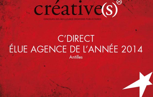 """Quand C'Direct est élue """"agence de l'année"""" deux années de suite..."""