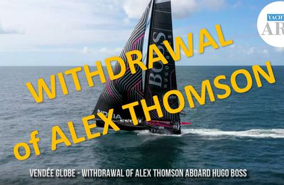 Vendee Globe 2020 - withdrawal of Alex Thomson aboard Hugo Boss