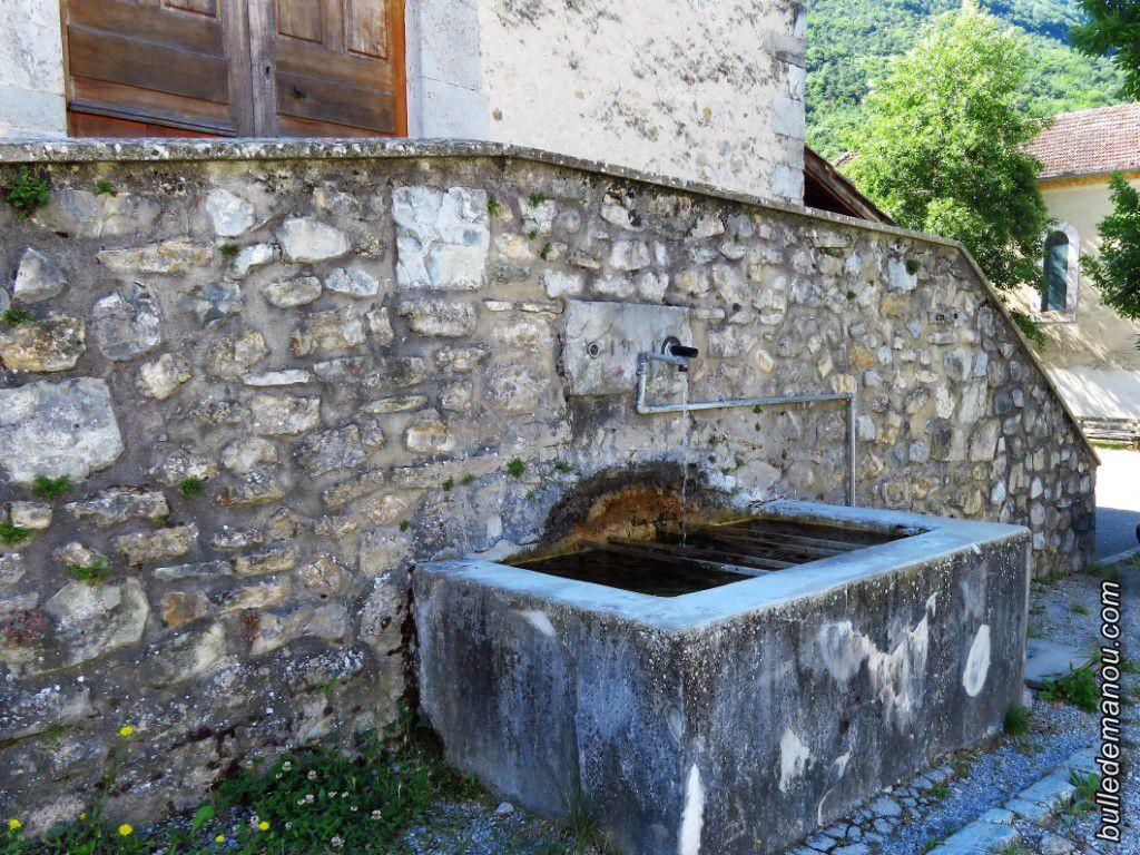 Lavoirs et fontaines du village