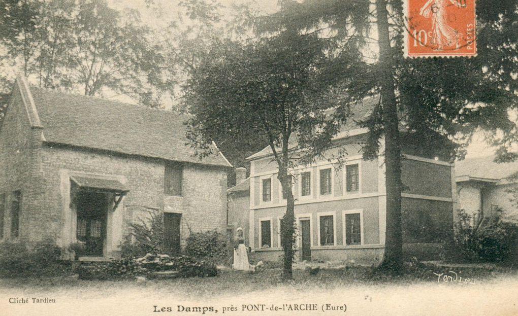 Les Damps, photographies et cartes postales anciennes