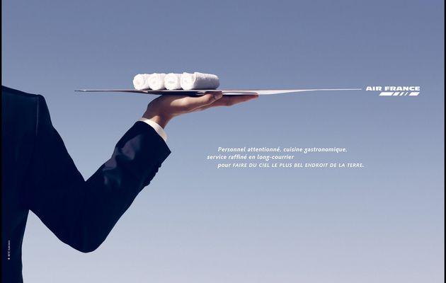 Pub d'autrefois : 2009, Air France mise sur les services et le confort