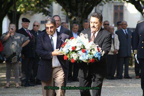 Cérémonie n°10 Journée des Harkis 25/09/2011 Dordogne ( Périgueux )
