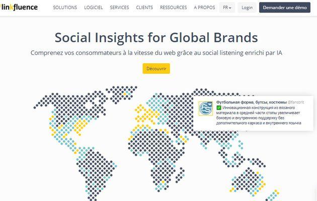 Media / Web : Meltwater rachète Linkfluence, spécialiste du «social media intelligence»