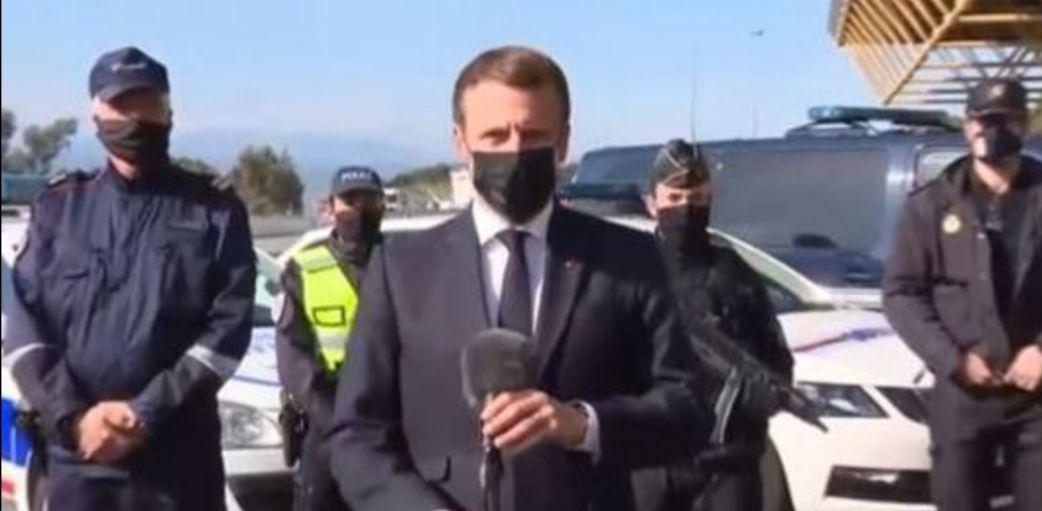 Emmanuel Macron au Perthus (suite)