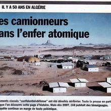 DOSSIER / REVUE DE PRESSE AVEC LA VIE DE L'AUTO N°1401 DU 23 DÉCEMBRE 2010 : LES CAMIONNEURS DANS L'ENFER ATOMIQUE (SAHARA ALGÉRIEN)