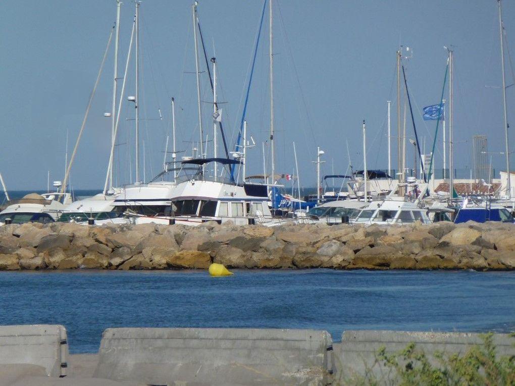 Quelques vues du petit port de plaisance...