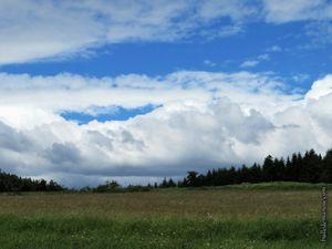 Quelques ciels de l'été...