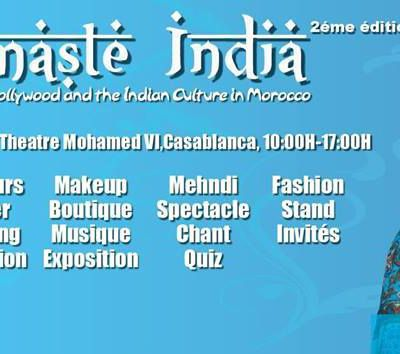 Namaste India Festival of Bollywood and the Indian Culture in Morocco