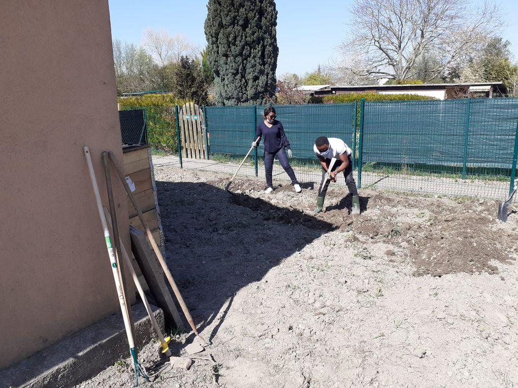 Photos Aménagement du jardin de l'association