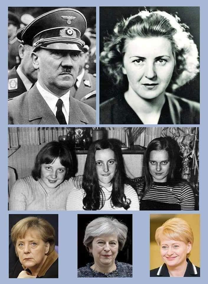 2 MAJ Qui est réellement Angela (Krasner) #Merkel ? Personne, ou presque, ne connait la Famille d'Angela Merkel !