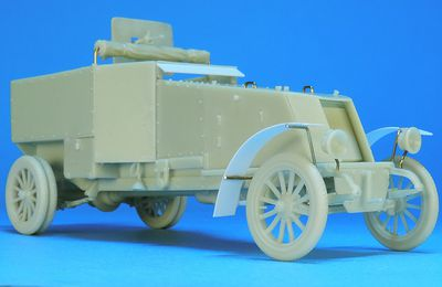 Automitrailleuse Renault type ED 1914  (Gaso.Line - 1:48)