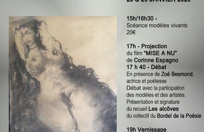 Cycle expositions Rencontre à Montreuil. LE NU DANS TOUS SES ETATS