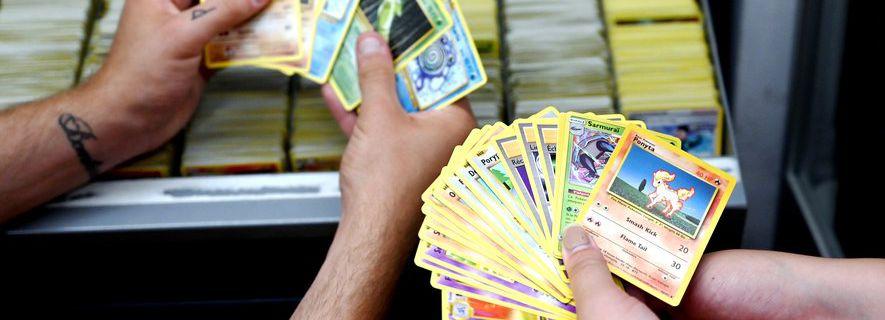 Reportage : prix des cartes POKEMON