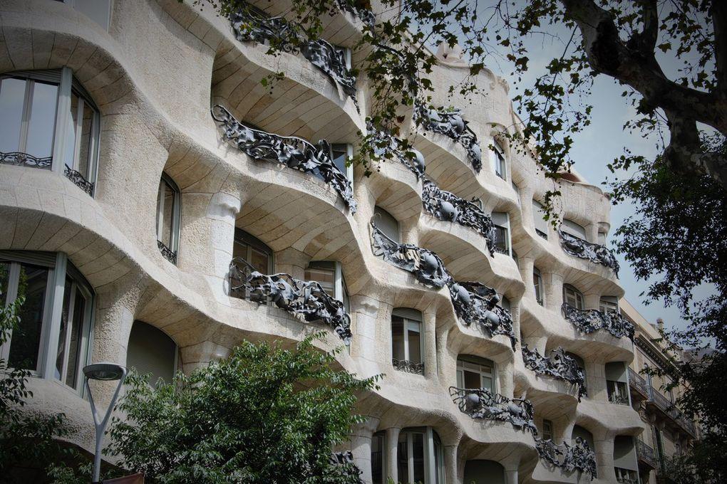 La Casa Mila et la Casa Battlo, du Gaudi pur jus.